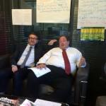 Réunion impromptue et agréable dans mon bureau - Christophe Bordet et Michel Pierdait