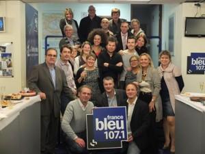 On fait la route ensemble, l'équipe de France Bleu 107.1