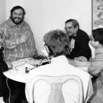 Invité exceptionnel de Patrick Sabatier,Luciano Pavarotti