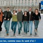 """Campagne France Bleu Sud Lorraine 2006 """"Écoutez les,Comme vous ils sont d'ici """""""