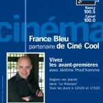 France Bleu Sud Lorraine 2006. France Bleu Ciné Cool avec Jérôme Prodhomme