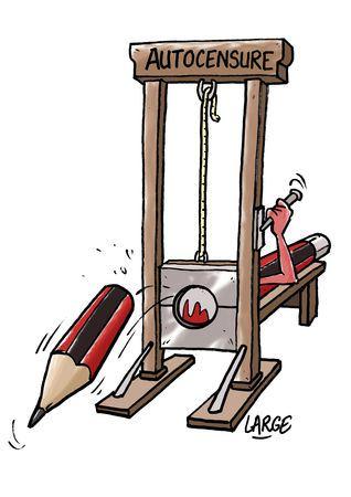 caricature autocensure liberté d'expression