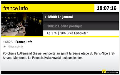France Info vidéo