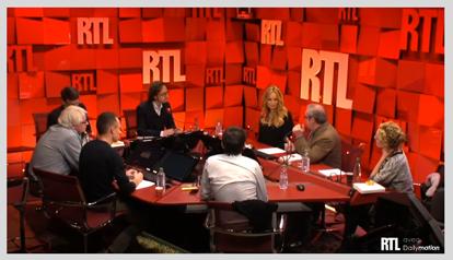 Radio filmée live RTL