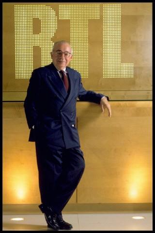 Jacques Riguaud devant le cigleRTL